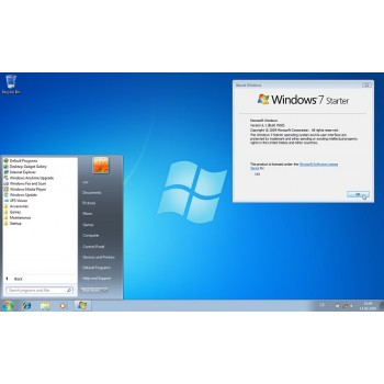 Licencia Windows 7 starter  32 bits  Sp 1