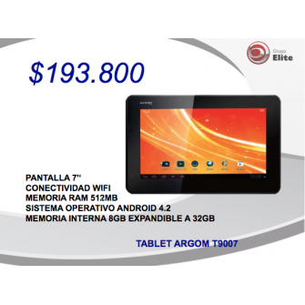 Tablet Argom
